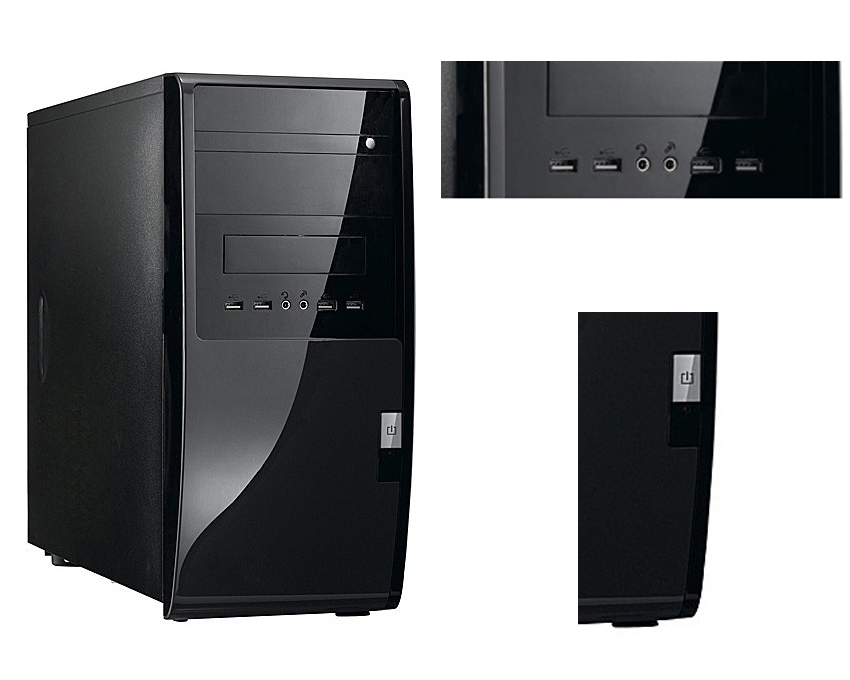 pc de bureau amd a4 2x3 0ghz 4go ram prix pas cher soldes cdiscount. Black Bedroom Furniture Sets. Home Design Ideas